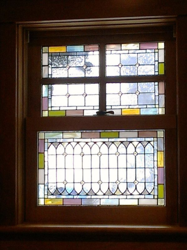 Stained Glass Windows Pale Tones W40 Medium