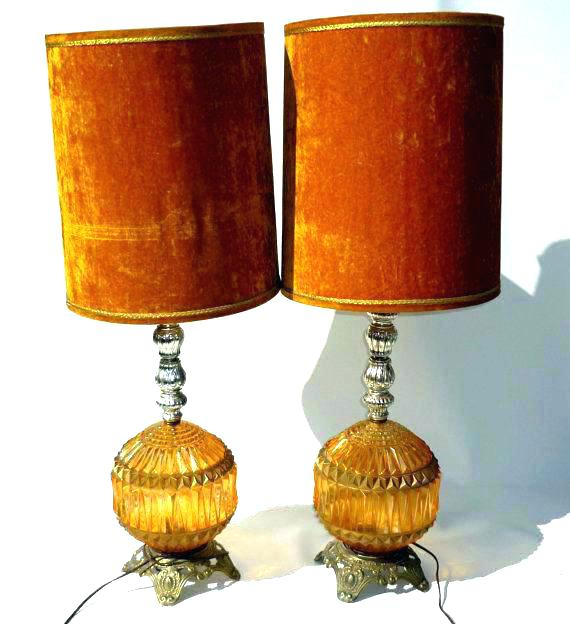 Style Burnt Orange Lamp Shade  Kerendco Medium