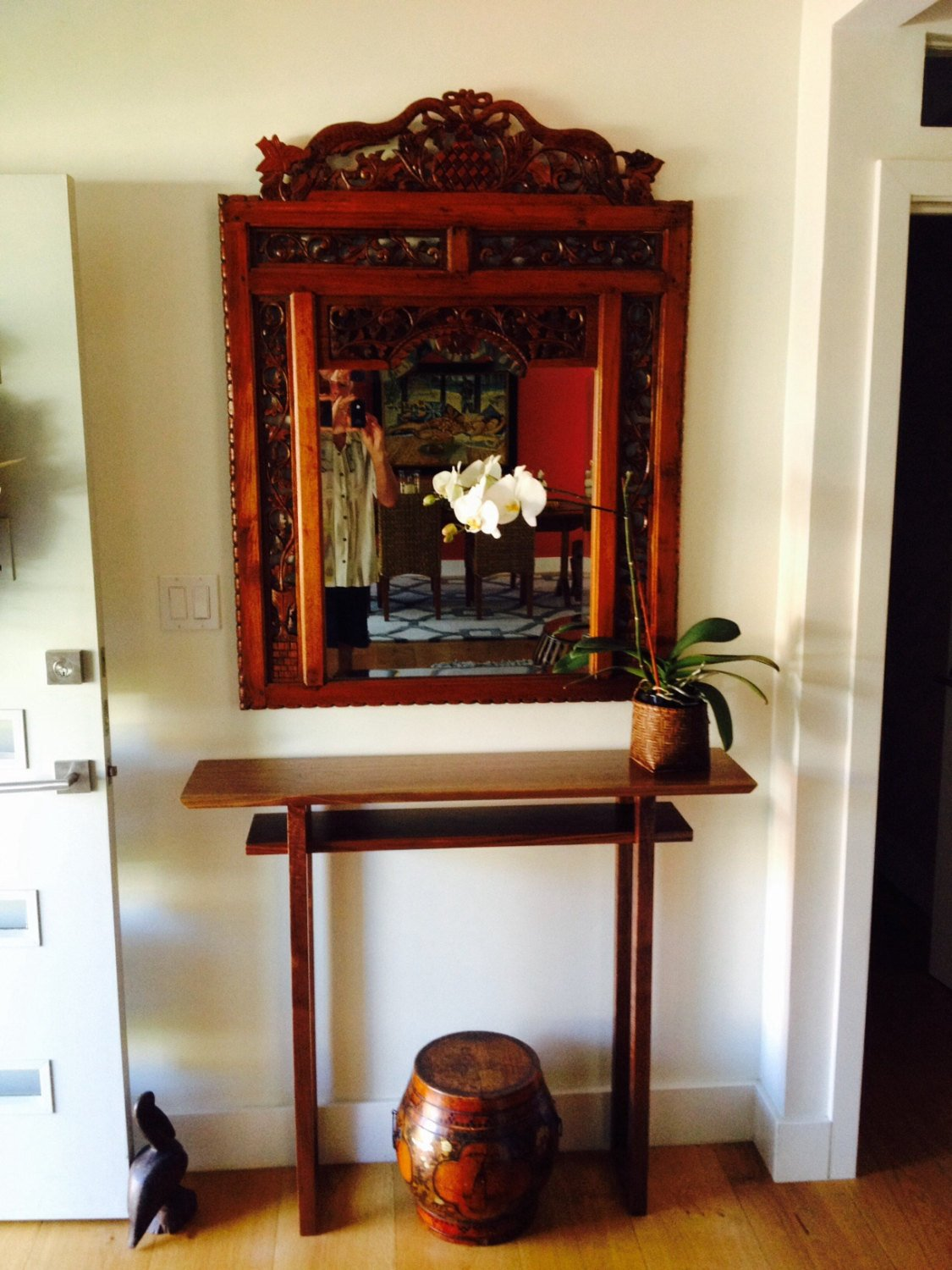 style hall table tall narrow side table console entry table small