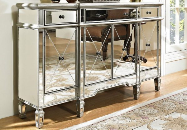 Style Inspiration Mirrored Furniture Contemporary Design Touch Furniture Medium