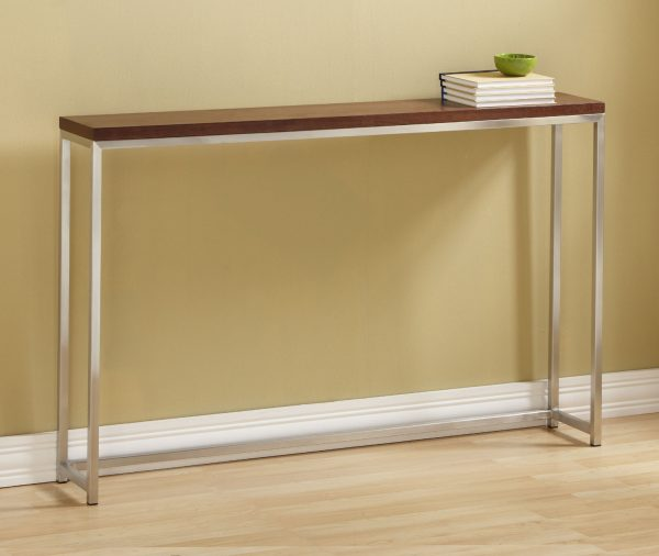 Style Narrow Hall Storage Extra Tall Console Table Tall Console Medium