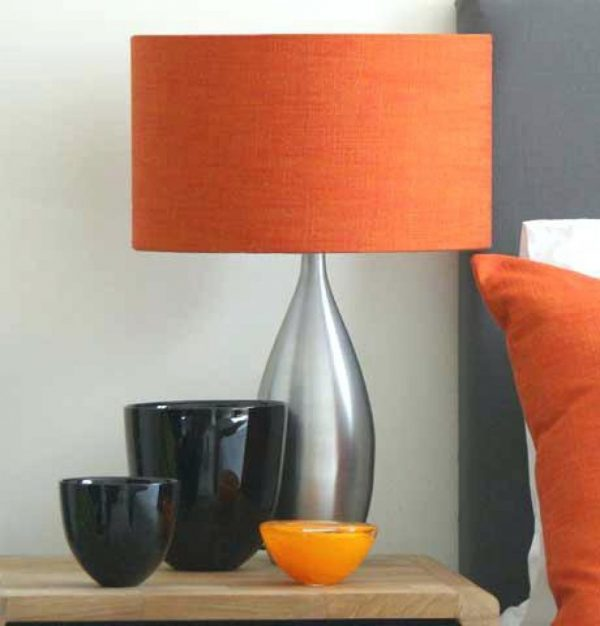 Style Table Lamps Burnt Orange Table Lamps Burnt Orange Lamp Medium