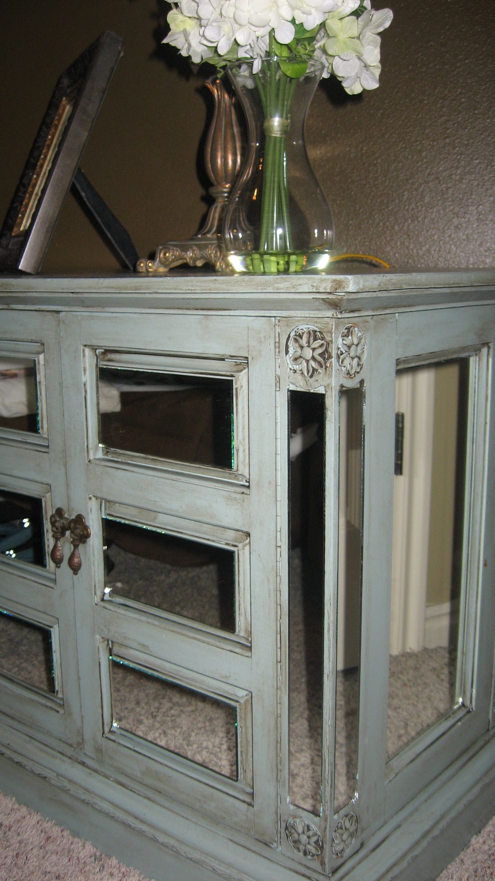 style we share designed to the ninesmake your own mirrored furniture