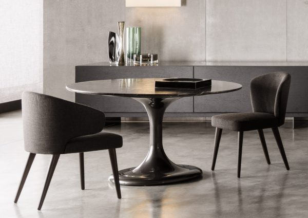 Table Round Dining Neto Minotti Luxury Furniture MR Medium