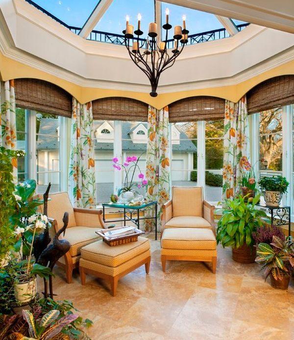 Tips 35 Beautiful Sunroom Design Ideas Medium