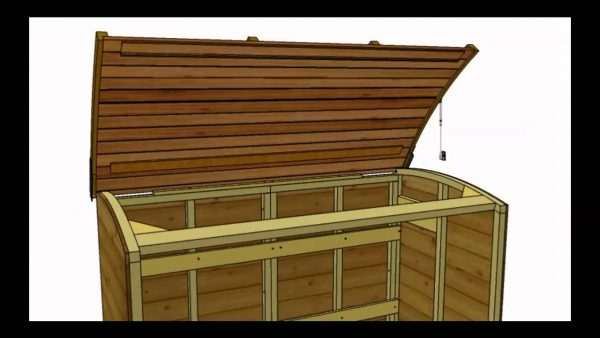 Top Canterbury Wood Storage Bin Youtube Medium