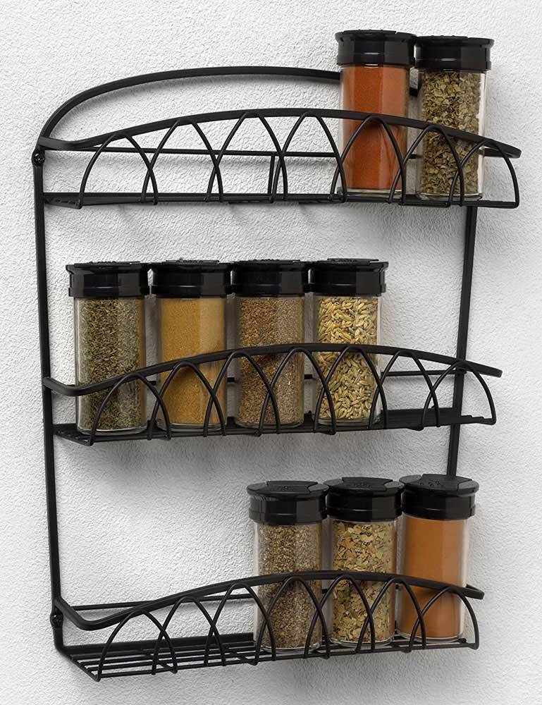 Wall Mounted Spice Rack In Spice Racks Medium