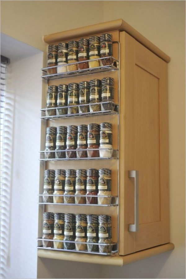 Wall Spice Rack IdeasHome Interior Design Styles Medium