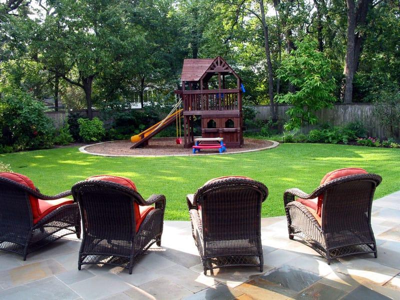 popular backyard playground and swing sets ideas backyard play