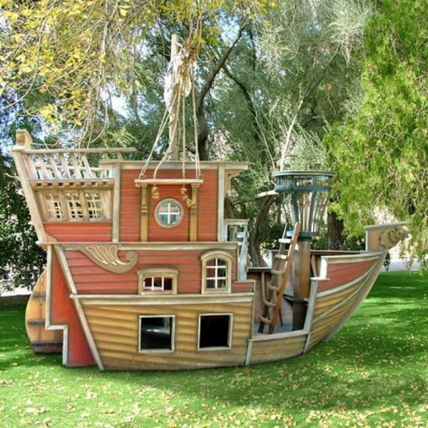 Best 15 Pimped Out Playhouses Your Kids Need In The Backyard Medium