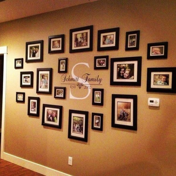 Best 20 Ideas Of Family Wall Art Picture Frameswall Art Ideas Medium
