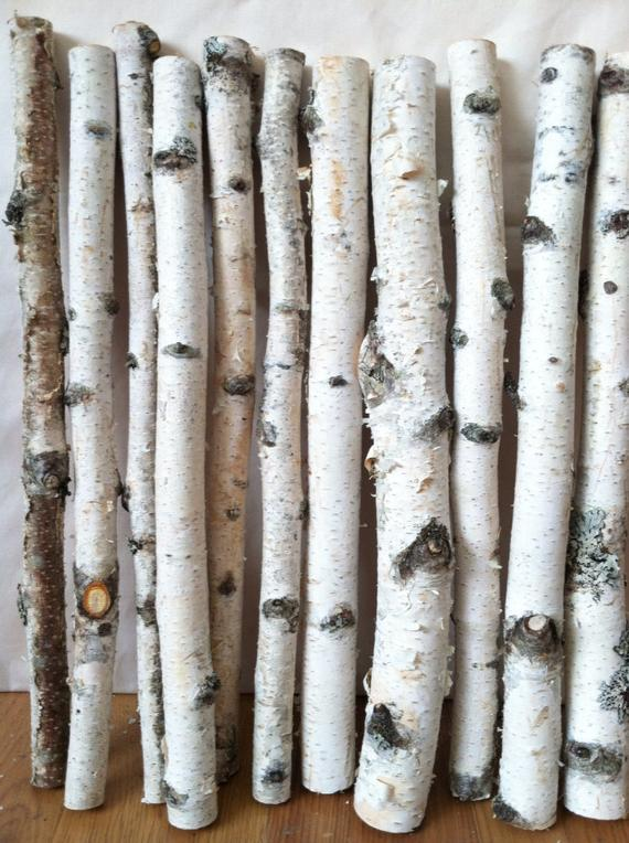 Best 20 White Birch Logs By Lightofdaycreations On Etsy Medium
