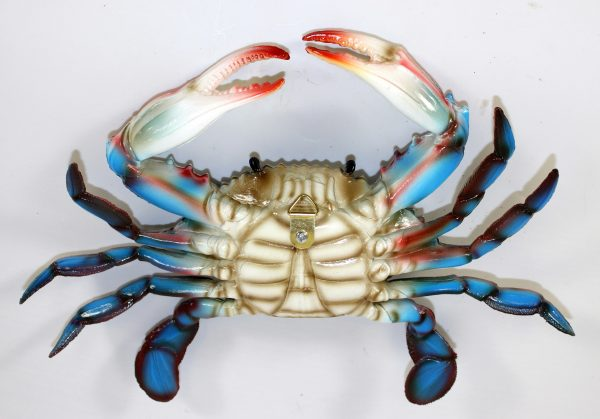 Best 6 Inch Maryland Blue Crab Beach Tiki Bar Wall Decorebay Medium