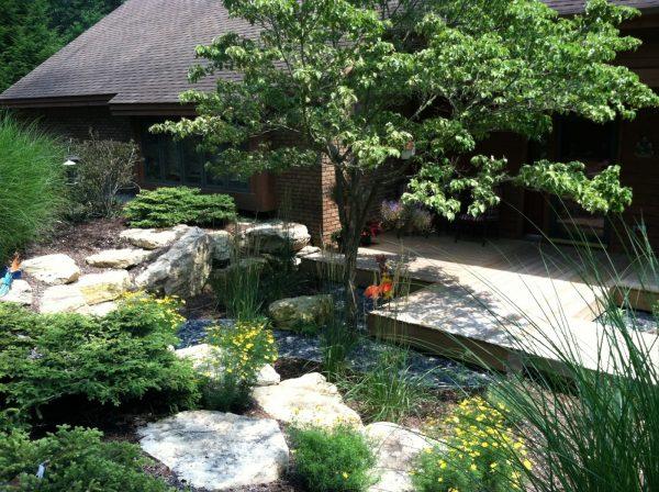 Best Apex Landscape Backyard Makeover Medium