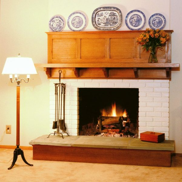 Best Arts And Crafts Fireplace Design Intended For Homethis Medium