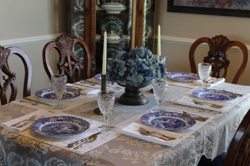 best blue italian tablescape belle bleu interiors
