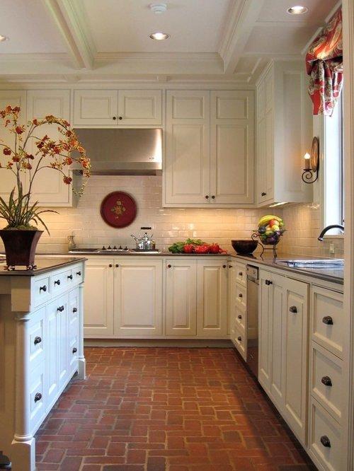Best Brick Kitchen Floorhouzz Medium