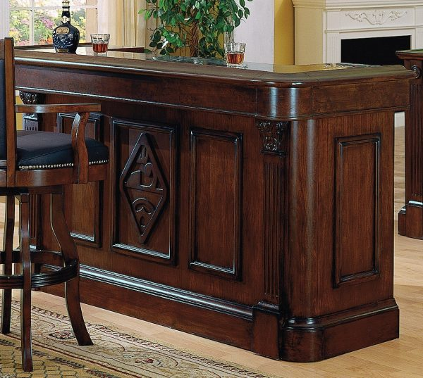 Best Buy Monticello Bar In Burnished Walnut Finish By Eci From Medium