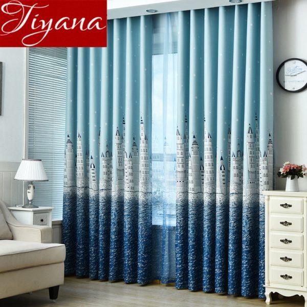 Best Cartoon Curtain Castle For Living Room Window Bedroom Kids Medium