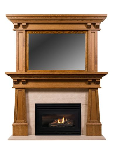 Best Custom Fireplace Mantels And Surrounds Woodworking Medium