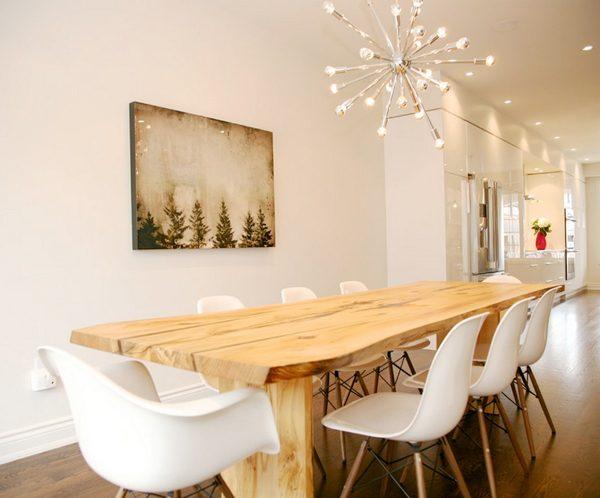 Best Dining Room Table Modern Benjamin Moore Linen White Medium