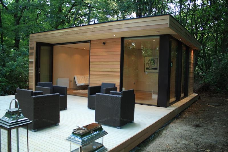 best efficient modern studio in the woods