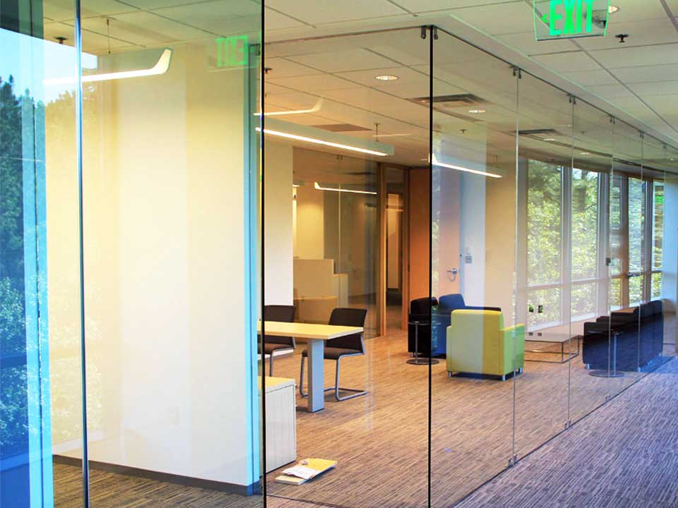 best elite free standing glass wall dividers