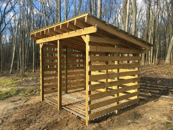 Best Firewood Shed Plans Free Plans To Build Your Own Medium