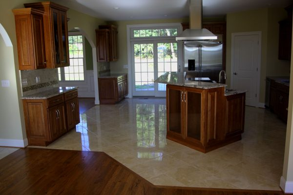 Best Fresh Tile Or Wood Floors In Kitchen Kezcreativecom Medium