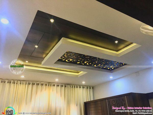 Best Furnished Master Bedroom Interior Kerala Home Design And Medium