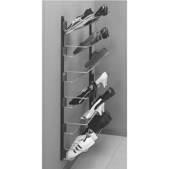 Best Hafele Wall Mounted Shoe Rackkitchensourcecom Medium