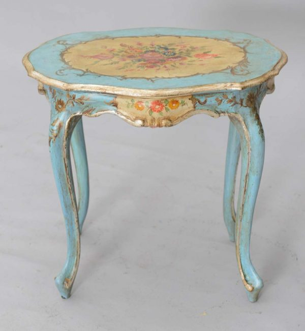 Best Hand Painted Venetian Accent Table At 1stdibs