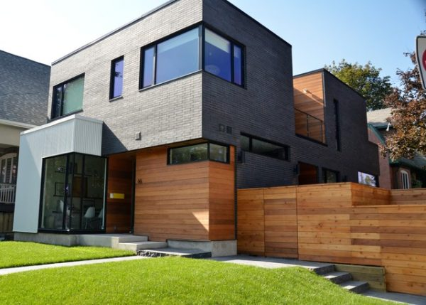 Best Industrial Look Of Metal Siding Incorporated Into Warmth Medium