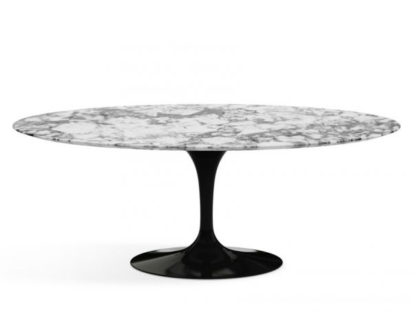 Best Knoll Saarinen Oval Dining Table Medium