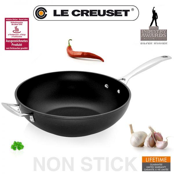 Best Le Creuset Antihaft Wok Pfanne 30 Cm Le Creuset Medium