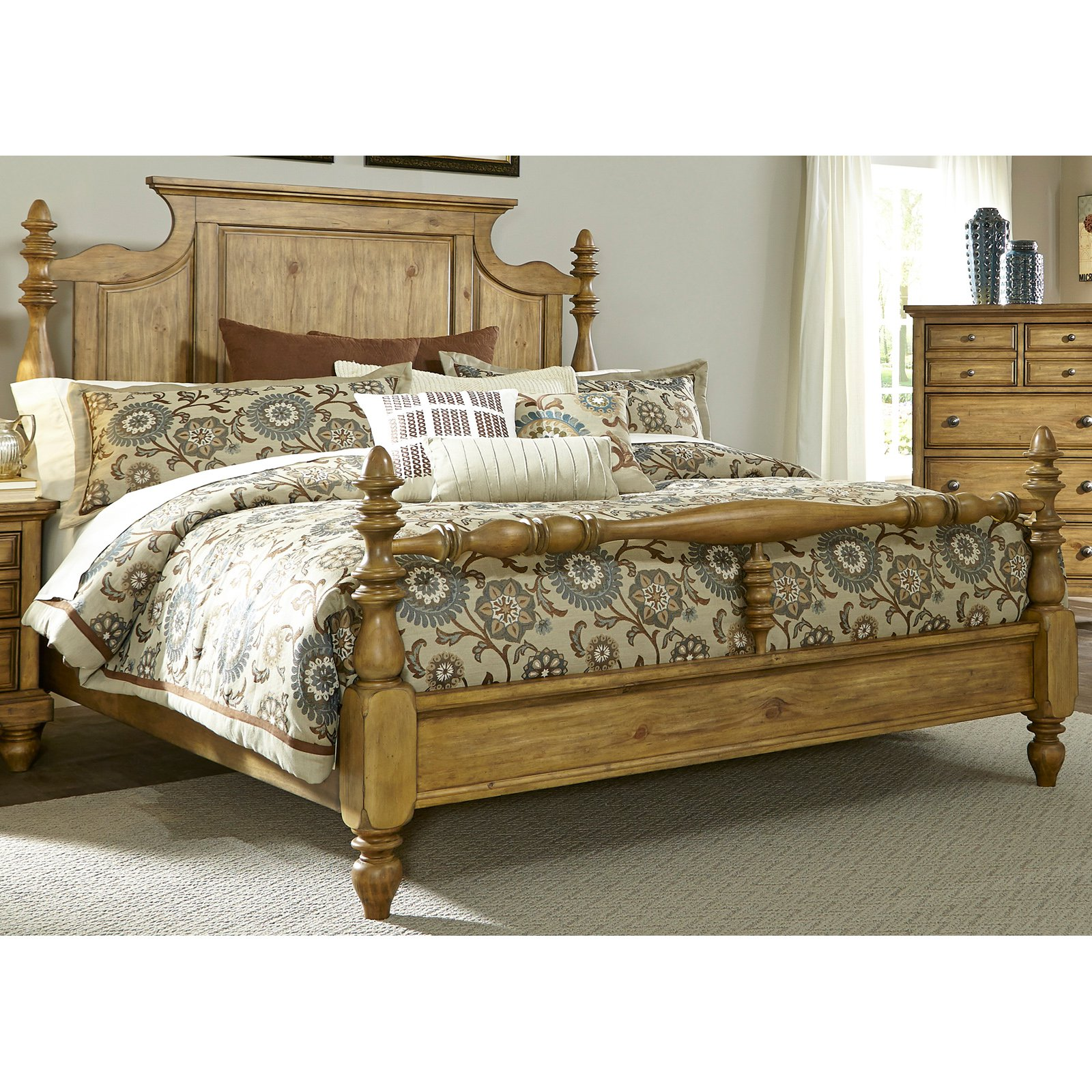 best liberty furniture high country poster bed beds at hayneedle