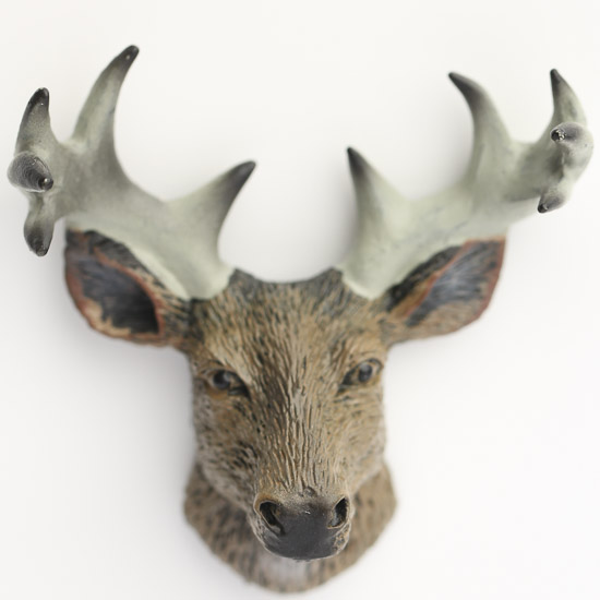 best miniature resin deer head animal miniatures dollhouse