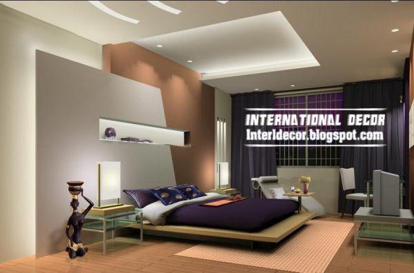 Best Modern Pop False Ceiling Designs For Bedroom 2017 Medium