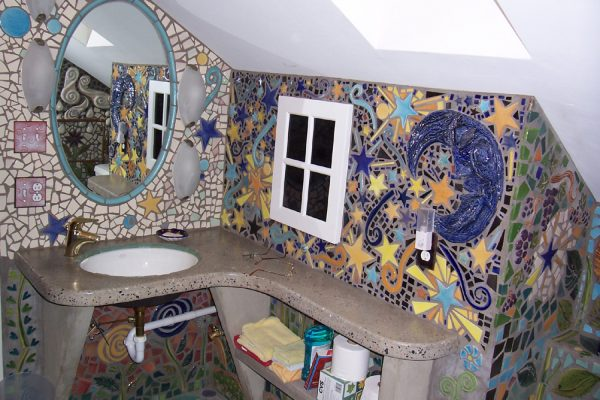 Best Mosaic Designs On Mosaic Bathroom Mosaic Medium