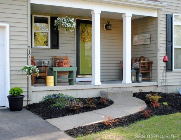Best Narrow Front Porch Furniture Ideas Medium