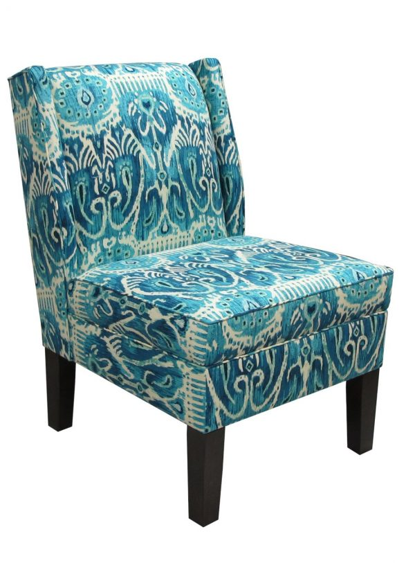 Best Peacock Blue Chair Home Design Medium