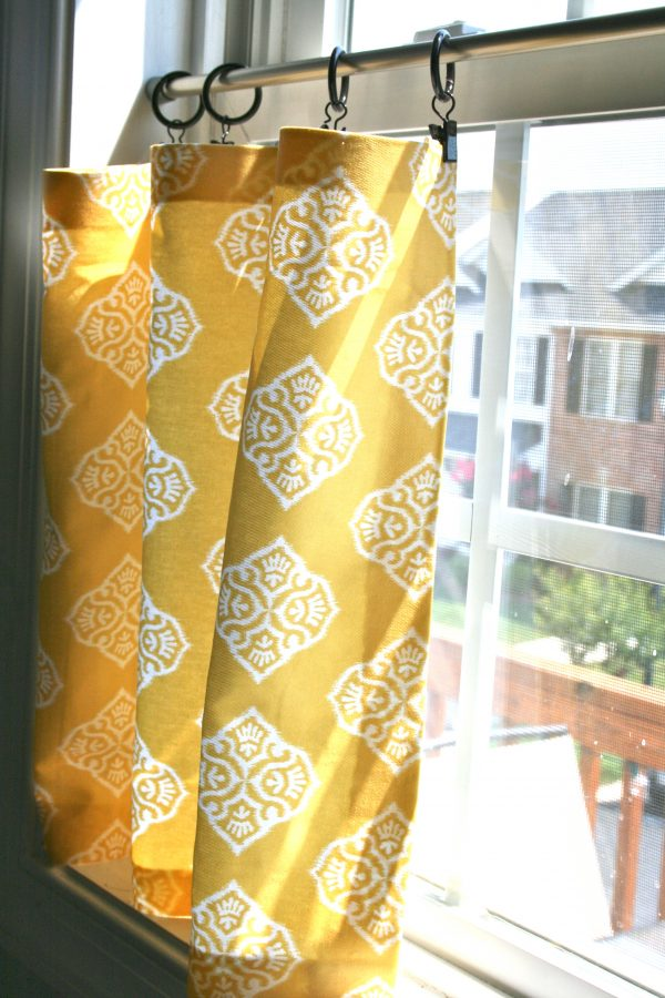 Best Pinspiration Monday No Sew Cafe Curtains Dream Green Diy