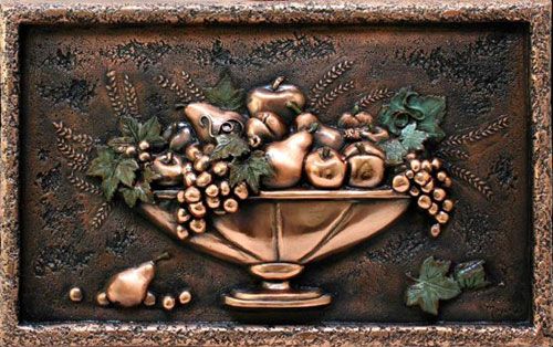 Best Small Fruit Bowl Backsplash Mural Medium