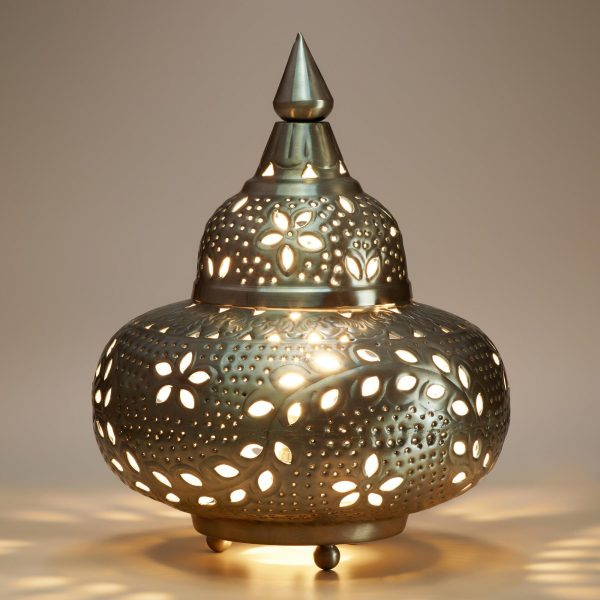 Best Small Moroccan Punched Metal Lampworld Market Medium