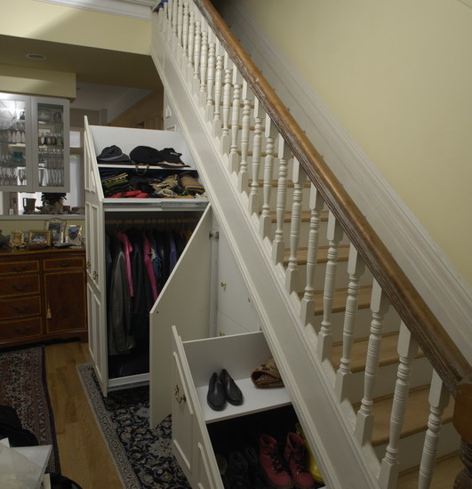 Best Stair Storage Design Ideas Pictures Remodel And Decor Medium