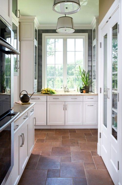 Best Terracotta Tile On Tiled Hallway Cement Tiles Medium