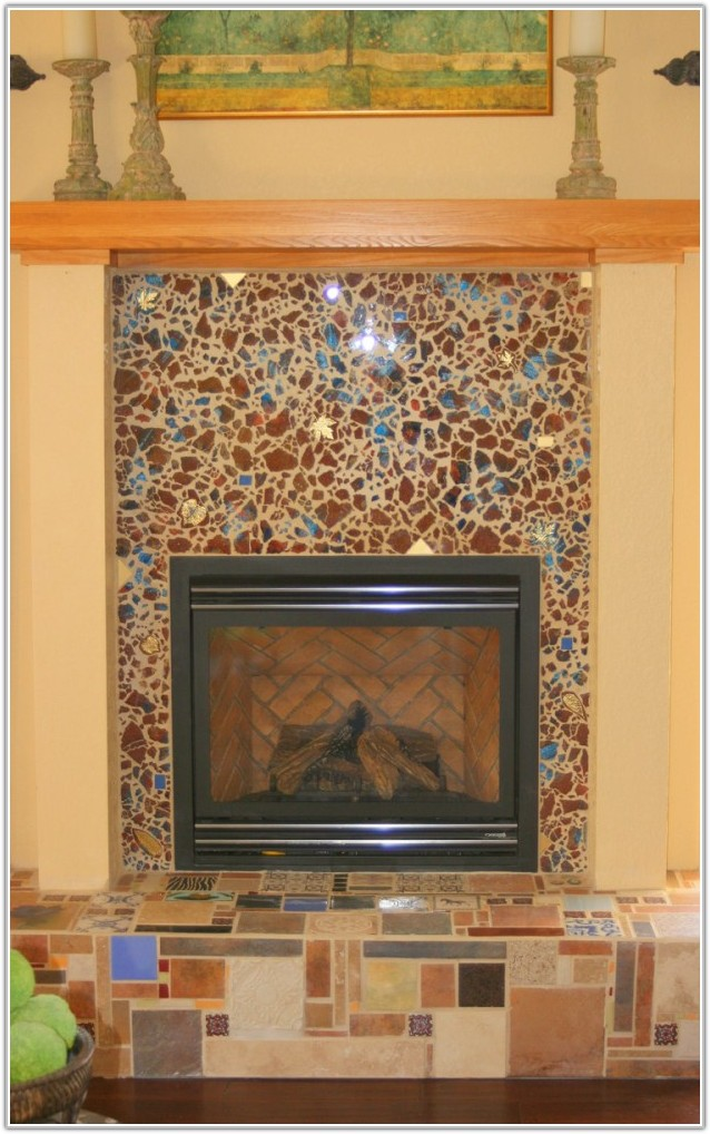 best tile ideas for fireplace surround tileshome
