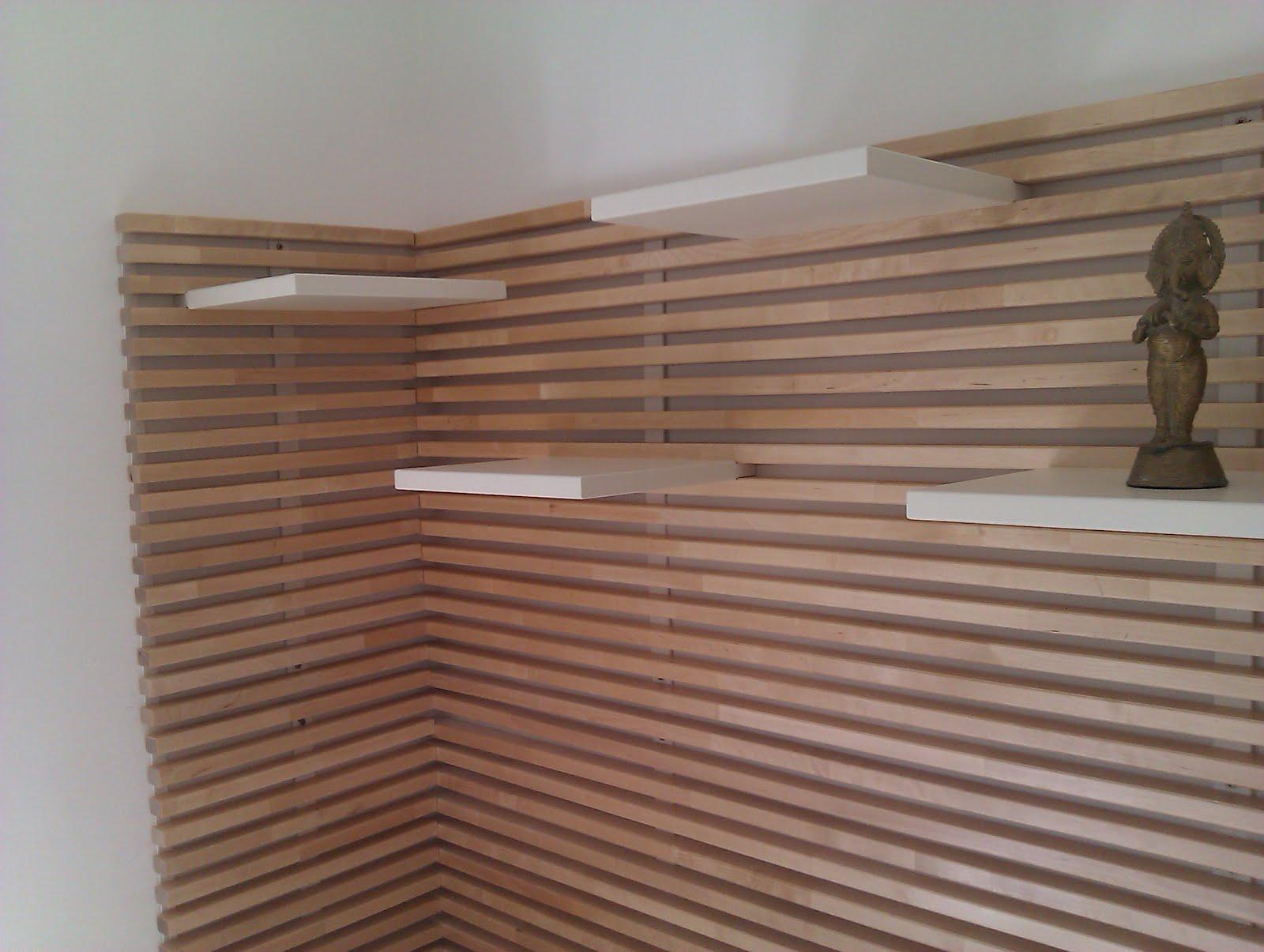 best wood slat wall ideas  loccie better homes gardens ideas