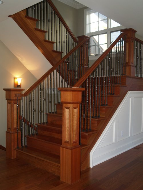 Bore Brazilian Cherry Stair Ideas Pictures Remodel And Decor Medium