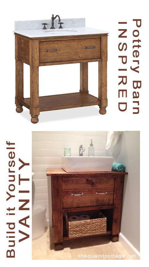 Bore Build Your Own Bathroom Vanity Plans Woodworking Medium